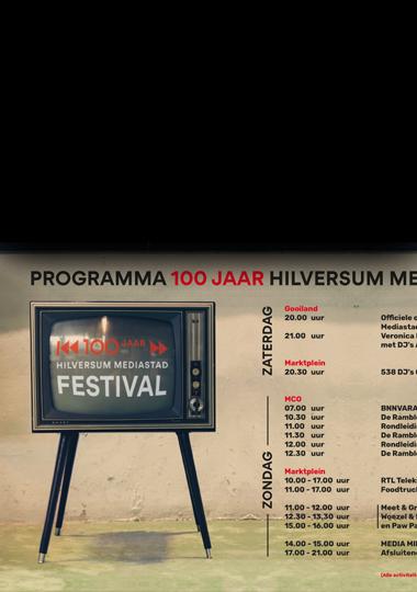 100 Jaar Mediastad Event